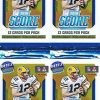 2018 Score NFL Football Lot of FOUR(4) Factor...