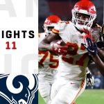 Chiefs vs. Rams Week 11 Highlights | NFL 2018
