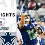Seahawks vs. Cowboys Wild Card Round Highlights  ...