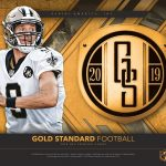 2019 Panini Gold Standard NFL Football HOBBY box...