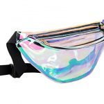 Lorencia Fanny Pack for Women Holographic Fanny...