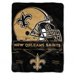 "NFL New Orleans Saints ""Prestige"" Raschel Throw..."