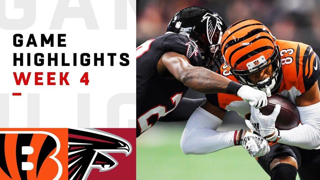 Bengals vs. Falcons Week 4 Highlights | NFL 2018