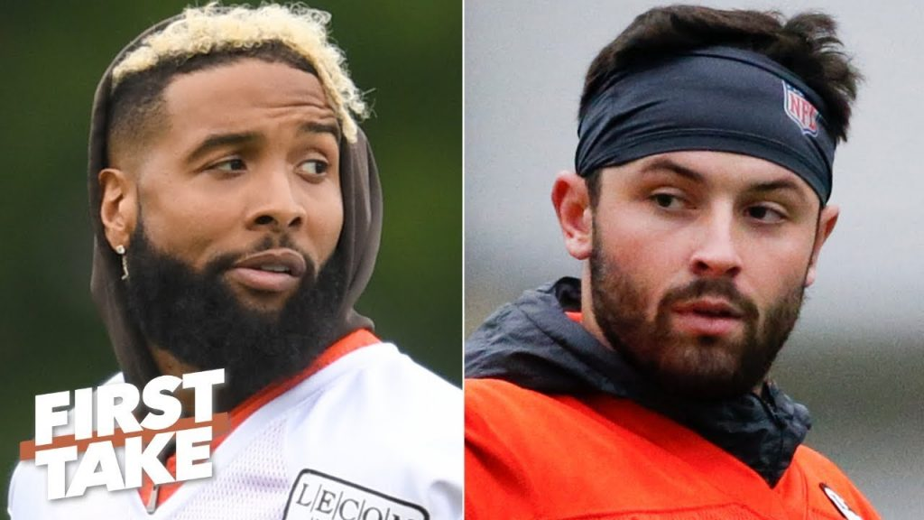 OBJ-Baker Mayfield will be the best duo in the NFL...