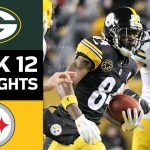 Packers vs. Steelers | NFL Week 12 Game Highlights