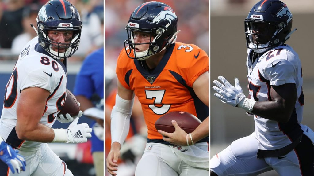 Breaking down the Broncos' initial roster at the...