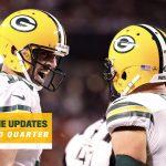 Packers lead Bears 7-3 as second half begins