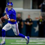Giants' Daniel Jones gets his feet wet, but his...
