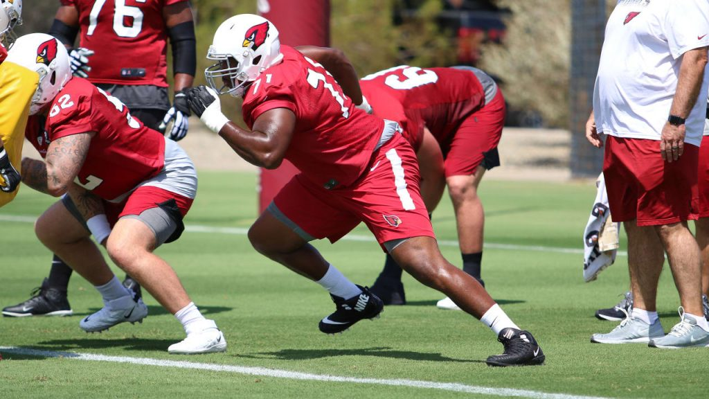 With Marcus Gilbert Hurting, Cardinals Prepare OL...