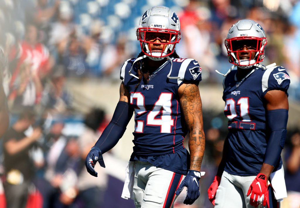 Stephon Gilmore named AFC Defensive Player of the...