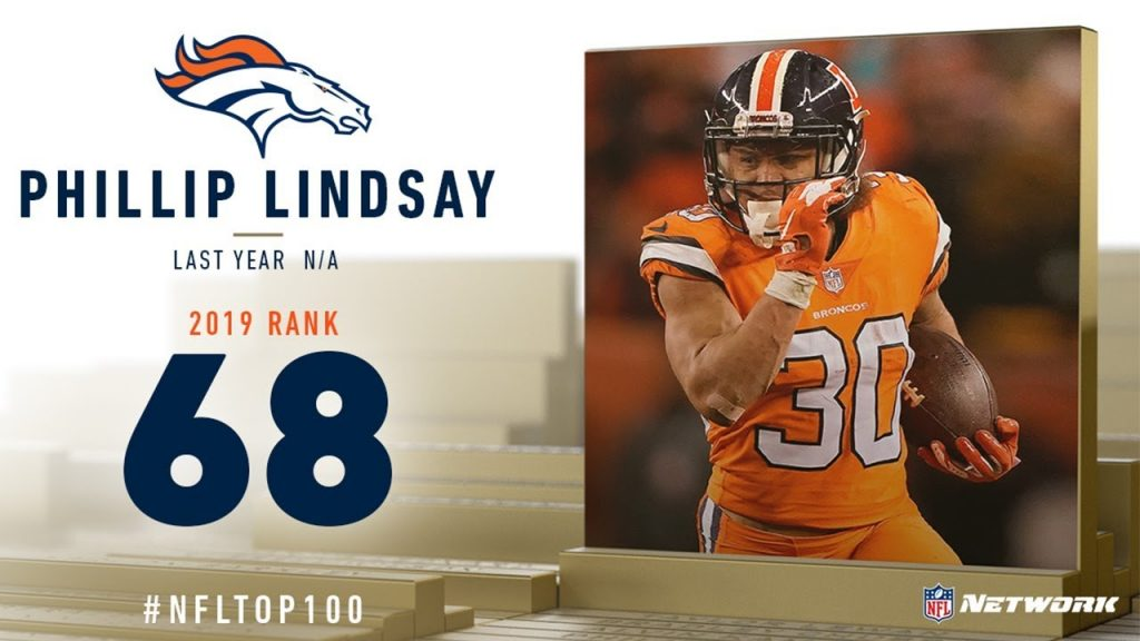 #68: Phillip Lindsay (RB, Broncos) | Top 100...