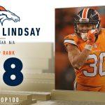 #68: Phillip Lindsay (RB, Broncos)   Top 100...