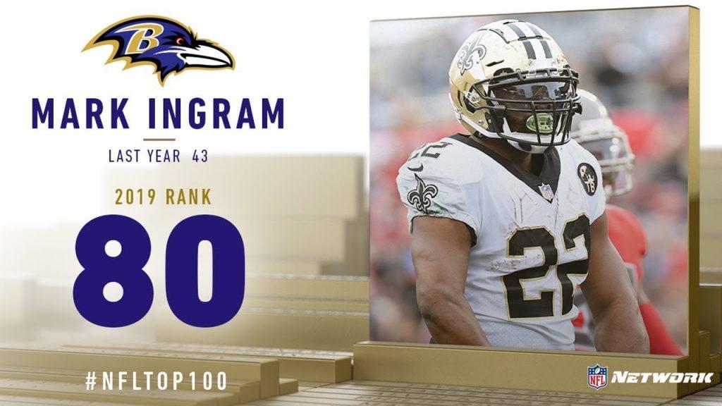 #80: Mark Ingram (RB, Ravens)   Top 100 Players of...