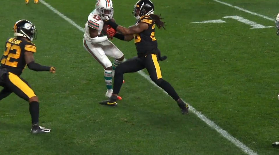 Missed Tackles Report: Steelers Vs Dolphins