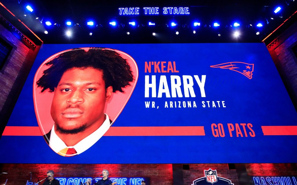 The real reason N'Keal Harry's NFL debut was...