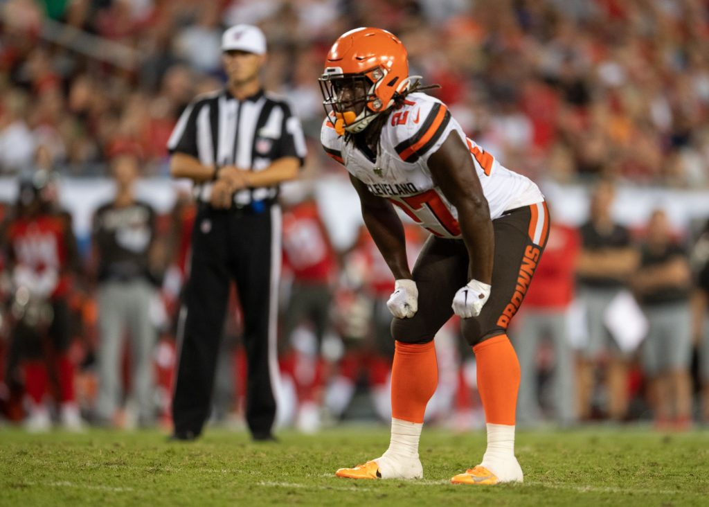 How does Kareem Hunt's return impact the Browns?