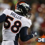 Von Miller sacks 50th quarterback of his career,...