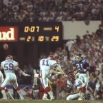 'Wide Right' from Super Bowl XXV becomes a...