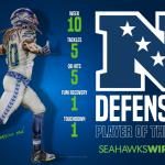 Seahawks DE Jadeveon Clowney named NFC Defensive...