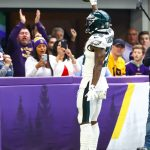 Miles Sanders 11.3 yards per target leads all NFL...