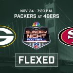 Packers-49ers game Nov. 24 flexed to Sunday Night...