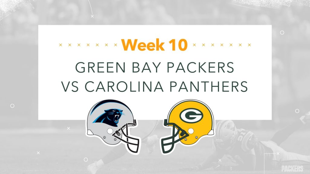 Infographic: Packers-Panthers game preview