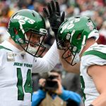 Sam Darnold's career-high four TDs lead Jets in...