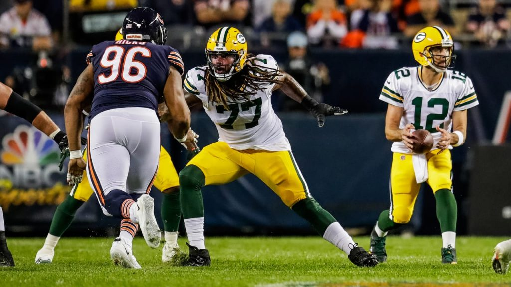Packers keeping all options open on offensive line