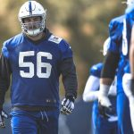 Guard Quenton Nelson (concussion) returns to the...