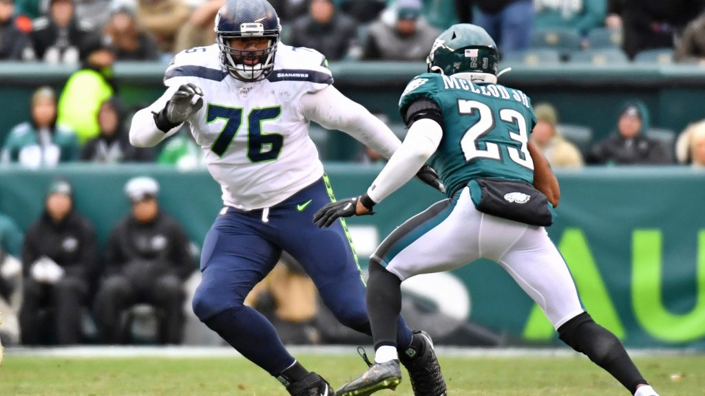 Seattle Seahawks tackle Duane Brown will not play...