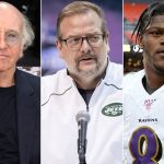 Larry David says he told former Jets GM to draft...