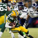 Griffin brothers team up for sack of Aaron Rodgers