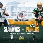 Packers to host Seahawks on Sunday, Jan. 12, at...