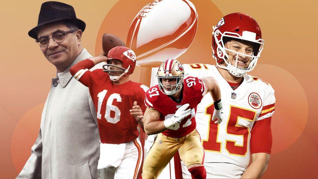 Super Bowl I vs. Super Bowl LIV